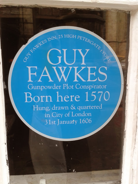 Guy Fawkes York