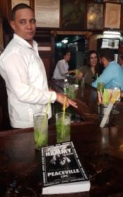 Ham book Bar de M Launch