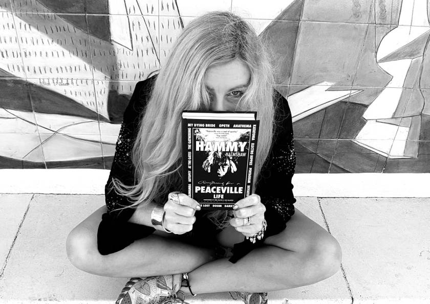 Lisa with book